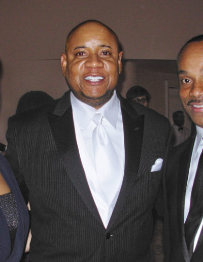 Rocky Carroll, wife Gabriell Bullock and Tony