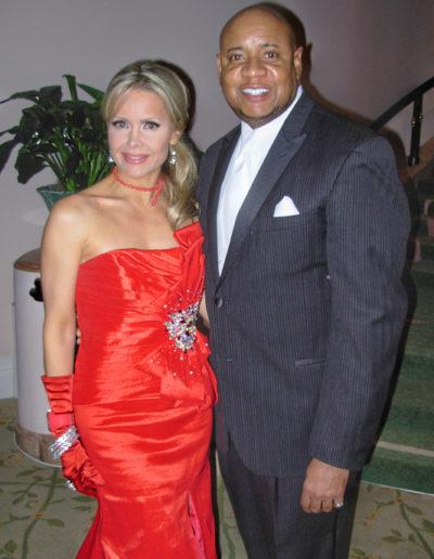 Tamara Henry and Tony