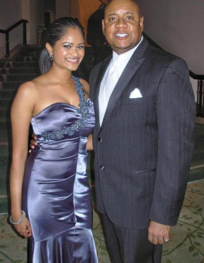 Faizah Karimi and Tony