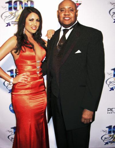 Estrella Nouri and Tony