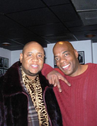 Tony and Alonzo Bodden, Feb 22, 2007, D.C. Improv