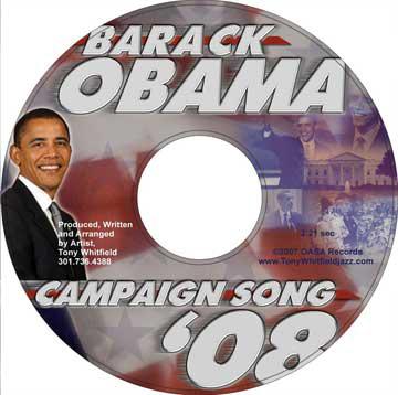 Tony creates Barack Obama's Campaign Song.