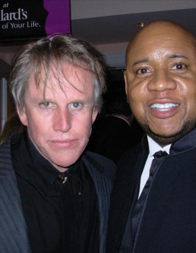Gary Busey and Tony