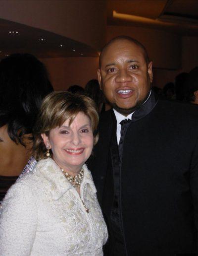 Gloria Allred and Tony