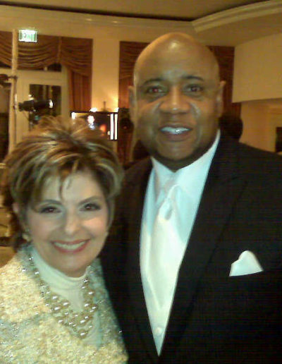 Gloria Allred and Tony