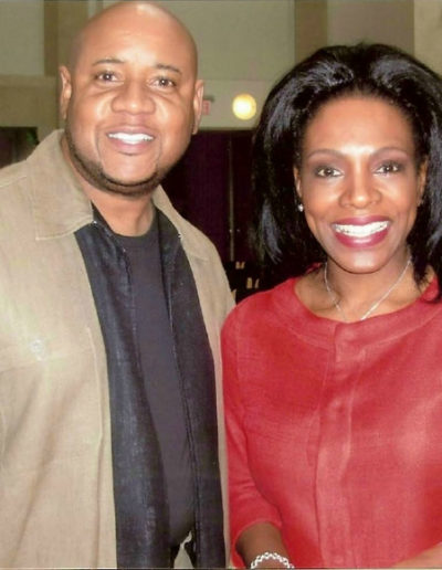 Sheryl Lee Ralph and Tony, July 2006