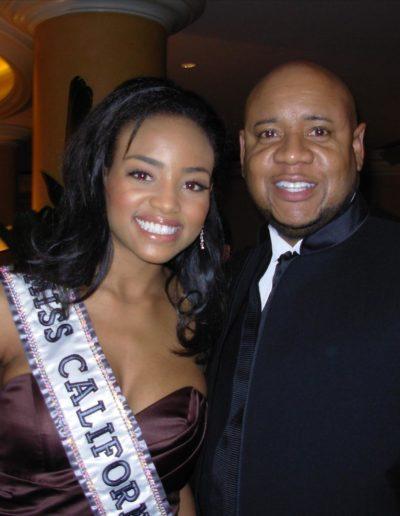 Meagan Yvonne Tandy Miss California USA 2006, and Tony