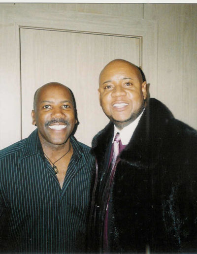 Tony with Nathan East Bass