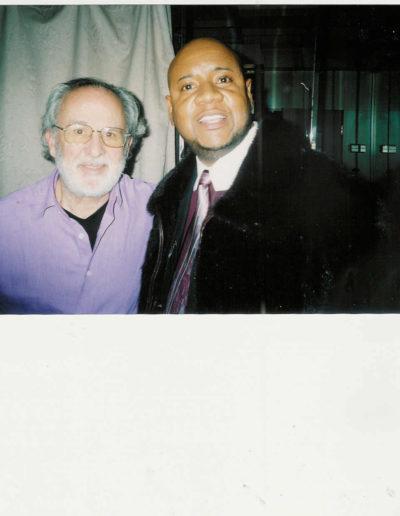 Tony with Bob James Keyboards