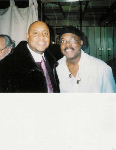 Tony with Harvey Mason Drums