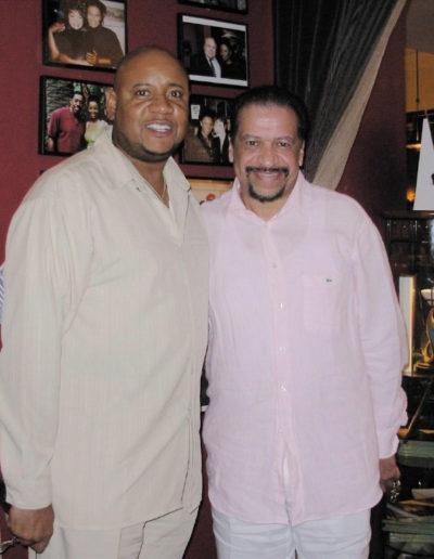 "Aug 8th ""Tony and Richard Smallwood dine at B. Smith's Restaurant in Washington, D.C."""