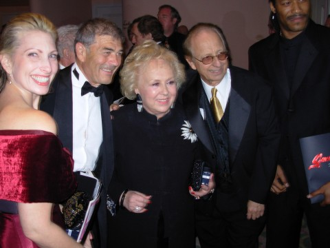 Doris Roberts and Norby Walters