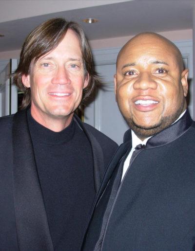 Kevin Sorbo and Tony
