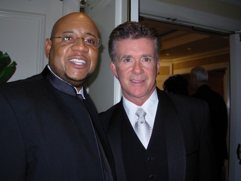 Tony and Alan Thicke