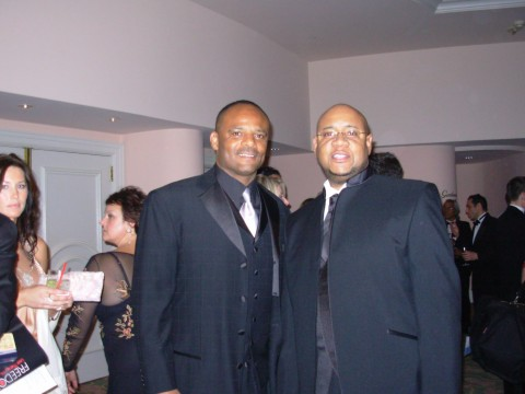 Tony and Warren Moon